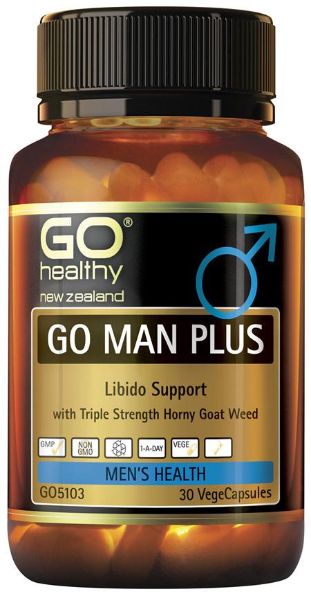 GO Man Plus 30 Vcaps