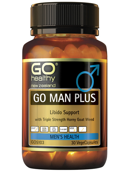 GO Man Plus 30 Vcaps
