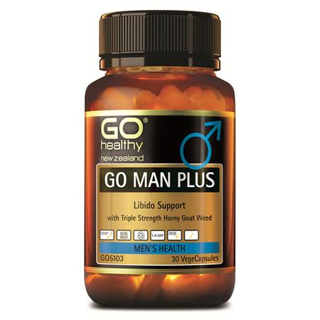 GO Man Plus 30vcaps