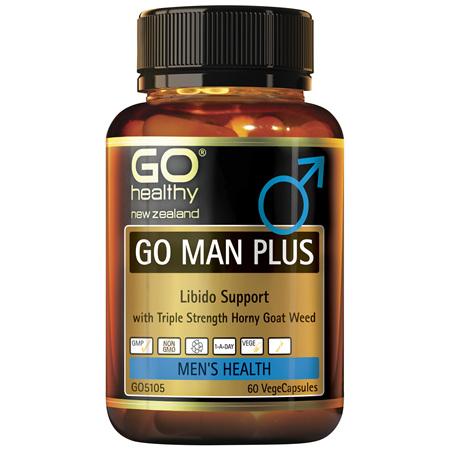 GO Man Plus 60 VCaps