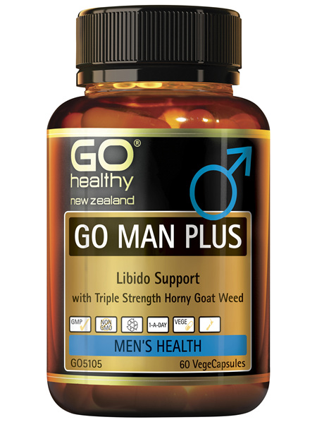 GO Man Plus 60 VCaps