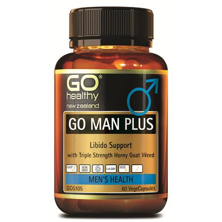 GO Man Plus 60vcaps