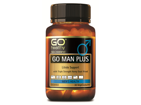 GO MAN PLUS - LIBIDO SUPPORT FOR MEN (30 VCAPS)