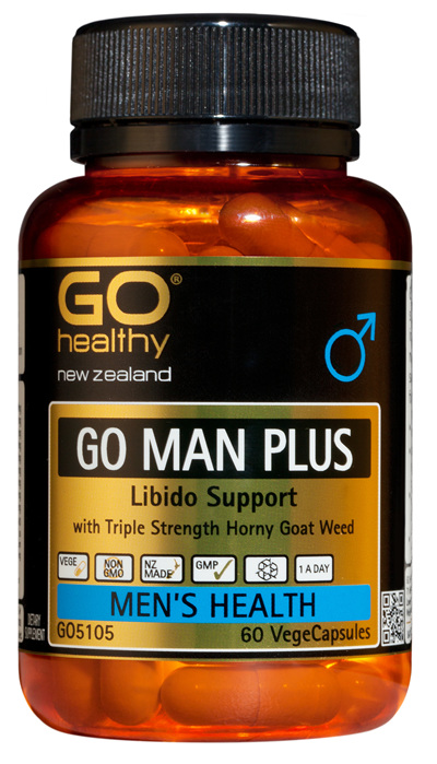 GO MAN PLUS - Libido Support for Men (60 Vcaps)