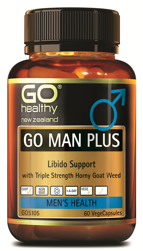 GO MAN PLUS - LIBIDO SUPPORT FOR MEN (60 VCAPS)