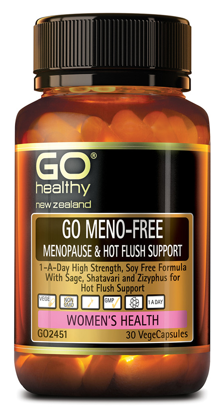 GO MENO-FREE - Menopause & Hot Flush Support (30 Vcaps)