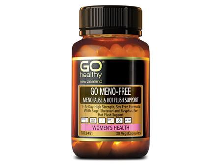 GO MENO-FREE - Menopause & Hot Flush Support (30 Vcaps)