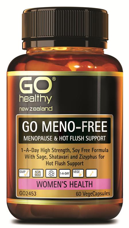 GO MENO-FREE - MENOPAUSE & HOT FLUSH SUPPORT (60 VCAPS)