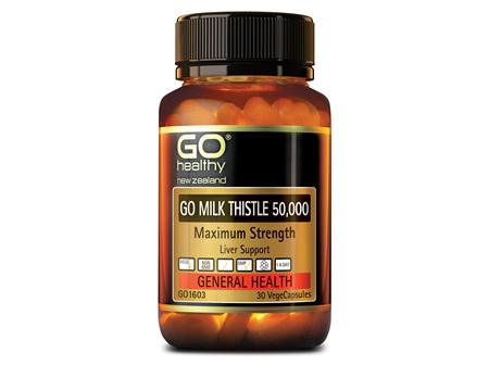 GO MILK THISTLE 50,000 - Maximum Strength (30 Vcaps)
