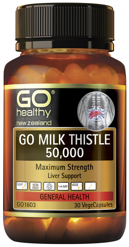 GO Milk Thistle 50,000 30 VCaps
