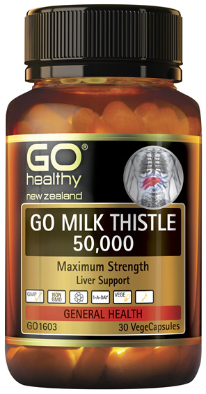 GO Milk Thistle 50,000 30 VCaps