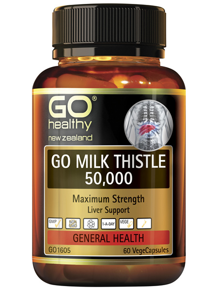 GO Milk Thistle 50,000 60 VCaps