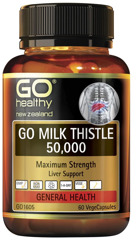 GO Milk Thistle 50,000 60 VCaps
