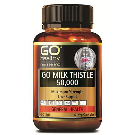 GO Milk Thistle 50000 60vcaps
