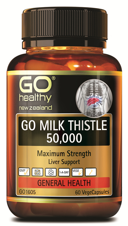 GO MILK THISTLE 50,000 - MAXIMUM STRENGTH (60 VCAPS)