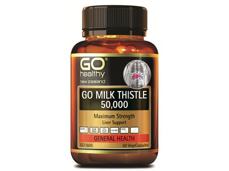GO MILK THISTLE 50,000 - MAXIMUM STRENGTH (60 VCAPS)
