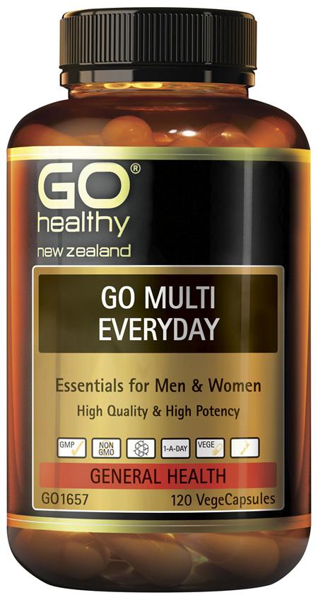 GO Multi Everyday 120 VCaps
