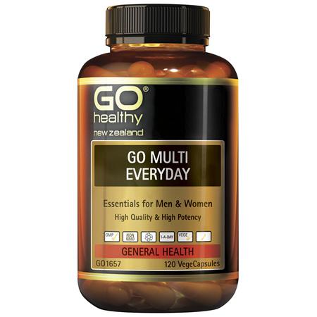 GO Multi Everyday 120vcaps