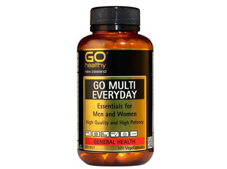 GO MULTI EVERYDAY - For Men & Women (120 Vcaps)