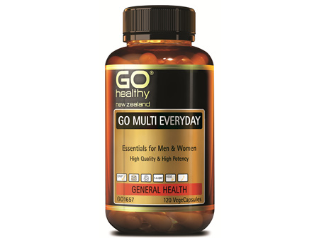 GO MULTI EVERYDAY - For Men & Women (120 Vcaps)