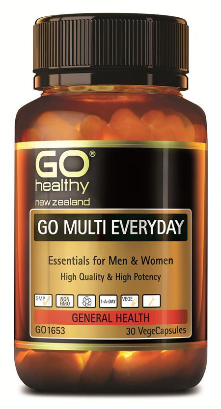 GO MULTI EVERYDAY - For Men & Women (30 Vcaps)