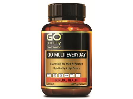GO MULTI EVERYDAY - FOR MEN & WOMEN (60 VCAPS)