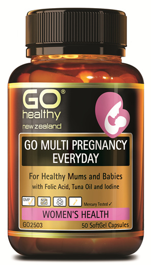 GO MULTI PREGNANCY EVERYDAY - FOR HEALTHY MUMS AND BABIES (50 CAPS)