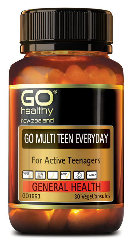 GO MULTI TEEN EVERYDAY - For Active Teenagers (30 Vcaps)