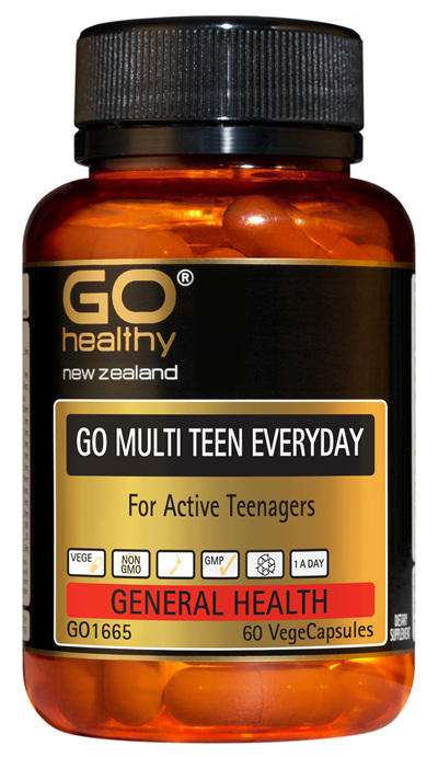 GO MULTI TEEN EVERYDAY - For Active Teenagers (60 Vcaps)