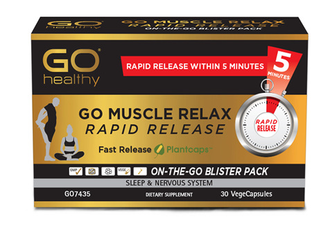 GO Muscle Relax Rapid Release 30 RR VCaps