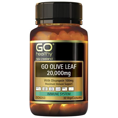 GO Olive Leaf 20,000mg 30 VCaps