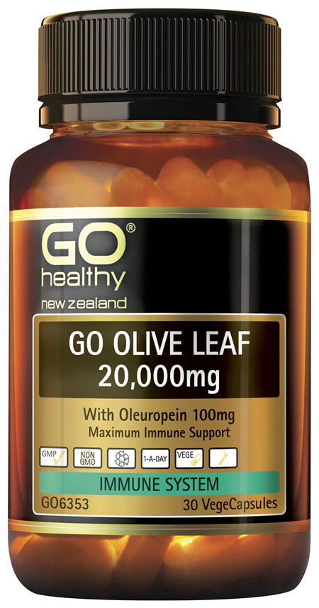 GO Olive Leaf 20,000mg 30 VCaps
