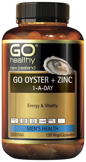 GO Oyster + Zinc 120 VCaps