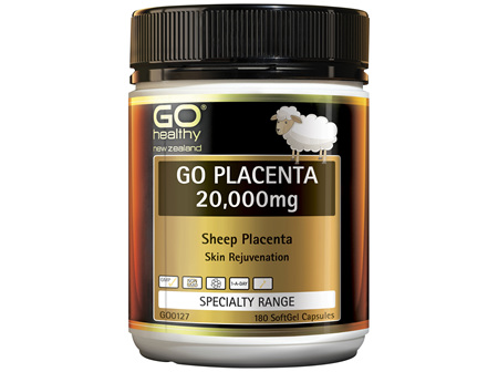 GO Placenta 20,000mg 180 Caps