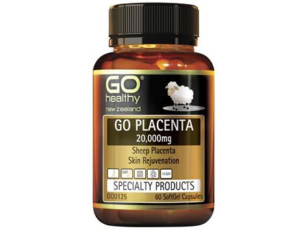 GO Placenta 20,000mg 60 Caps
