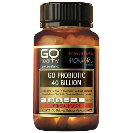 GO Probiotic 40 Billion 30 VCaps