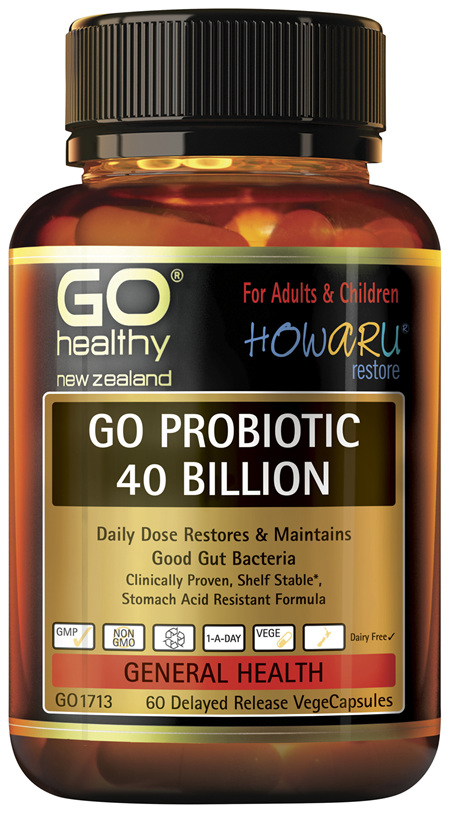 GO Probiotic 40 Billion 60 VCaps