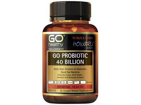 GO Probiotic 40 Billion 60 VCaps