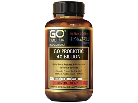 GO Probiotic 40 Billion 90 VCaps