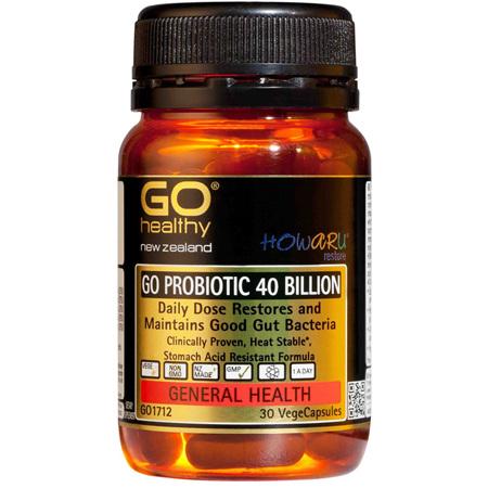 Go Probiotic 40B Howaru Restore 30