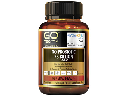GO Probiotic 75 Billion 1-A-Day 30 VCaps