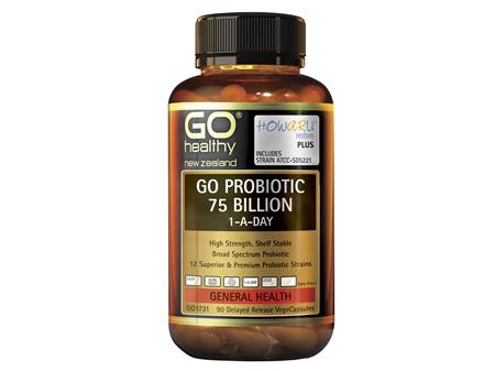 GO Probiotic 75 Billion 1-A-Day 90 VCaps