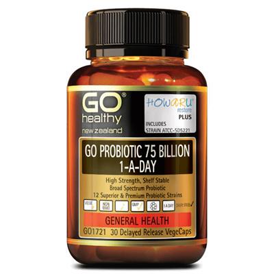 GO Probiotic 75 Billion 1ADay 90cap