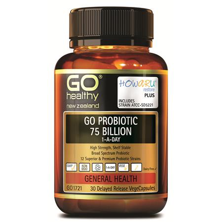 GO Probiotic 75 Billion 30vcaps