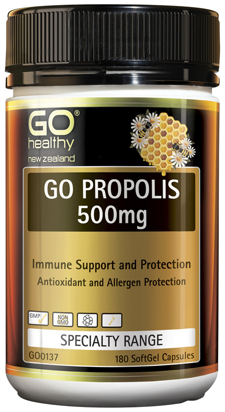 GO Propolis 500mg 180 Caps