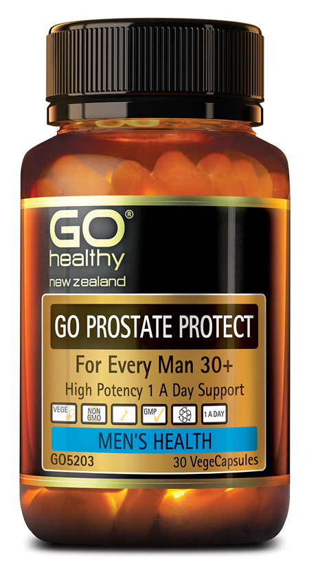 GO PROSTATE PROTECT - FOR EVERY MAN 30+ (30 VCAPS)