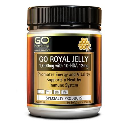 GO Royal Jelly 1000mg 180 SoftGelCaps