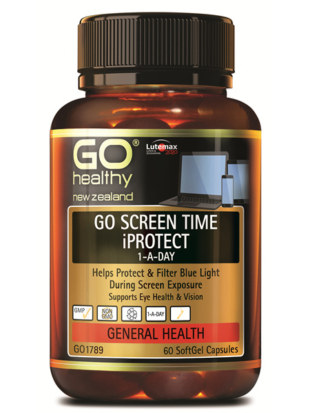 GO Screen Time iProtect 1ADay 60 caps