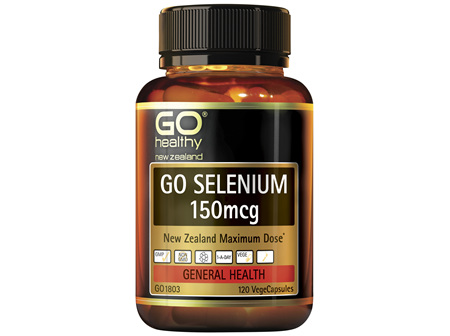 GO Selenium 150mcg 120 VCaps