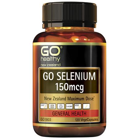 GO Selenium 150mcg 120vcaps